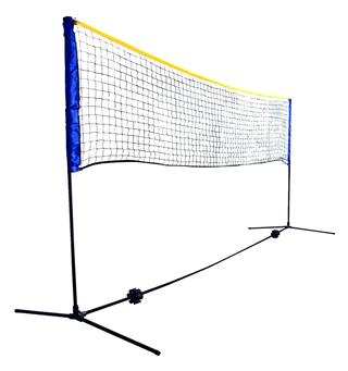Regulerbart sportsnett 3 meter Badminton, tennis og volleyballnett